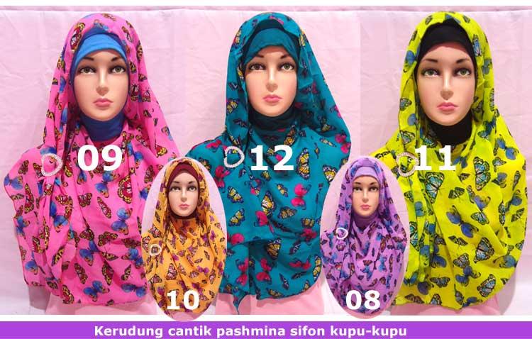 Contoh Model Hijab Instan Modern Terbaru 2016