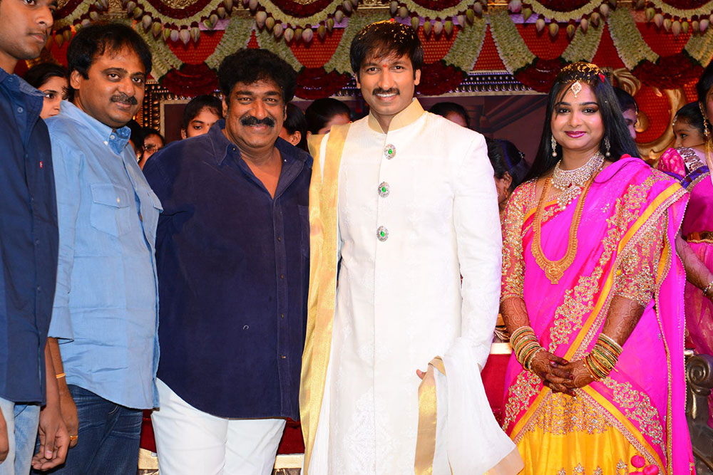 Gopichand Marriage Photos-HQ-Photo-4