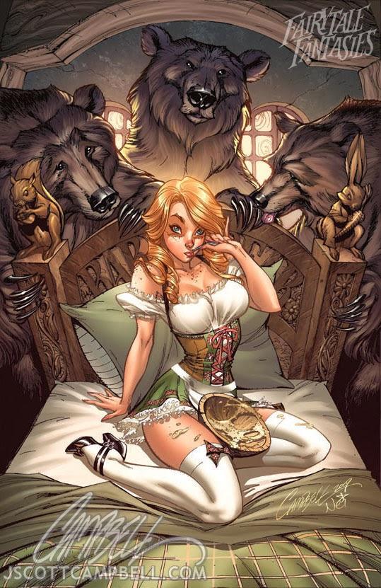 goldilocks and the 3 bears Fairytale Fantasies Disney