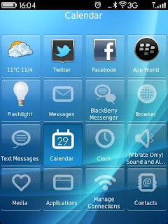 Hedone Design Wave 1.01.01 Theme for Blackberry