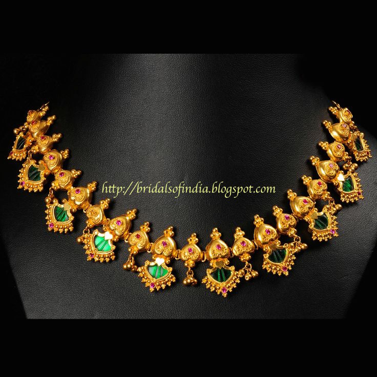 Fashion world: Kerala Traditional Jewelry - Palakka Mala