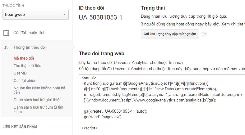 Google-Analytics-Code