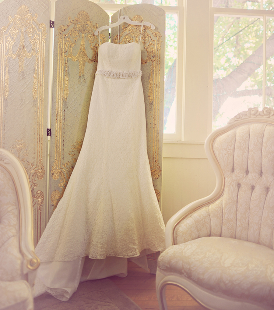 David's Bridal gown, Green Gables Estate Wedding