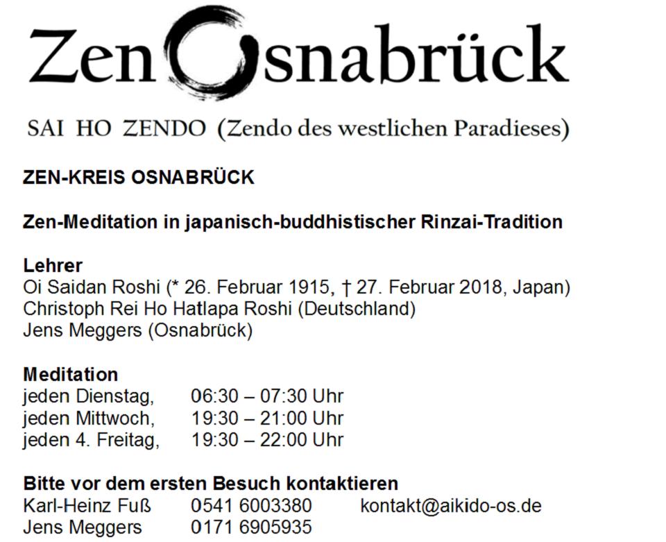 Zen-Kreis Osnabrück