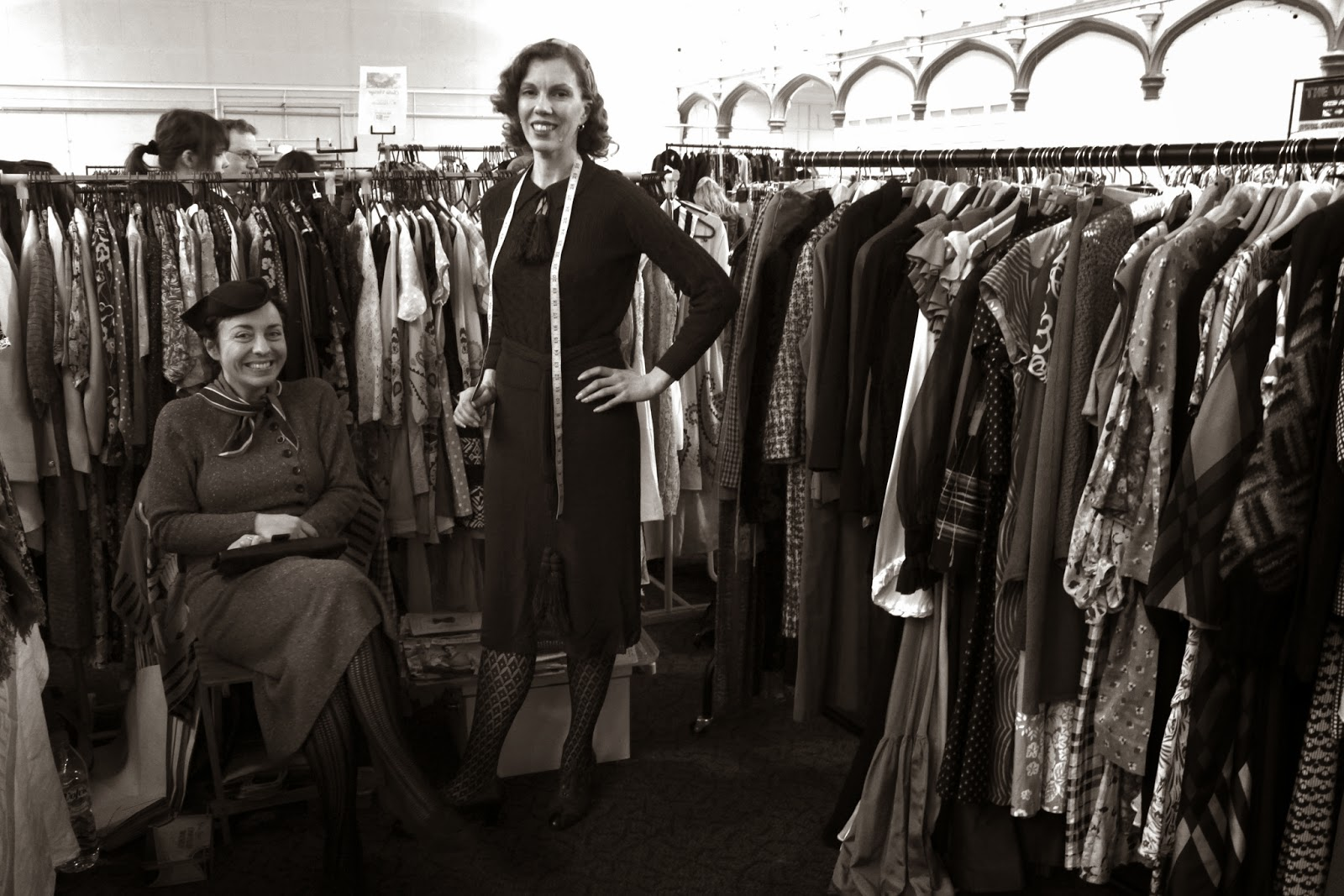 vintage fair, 1940's ladies, bristol