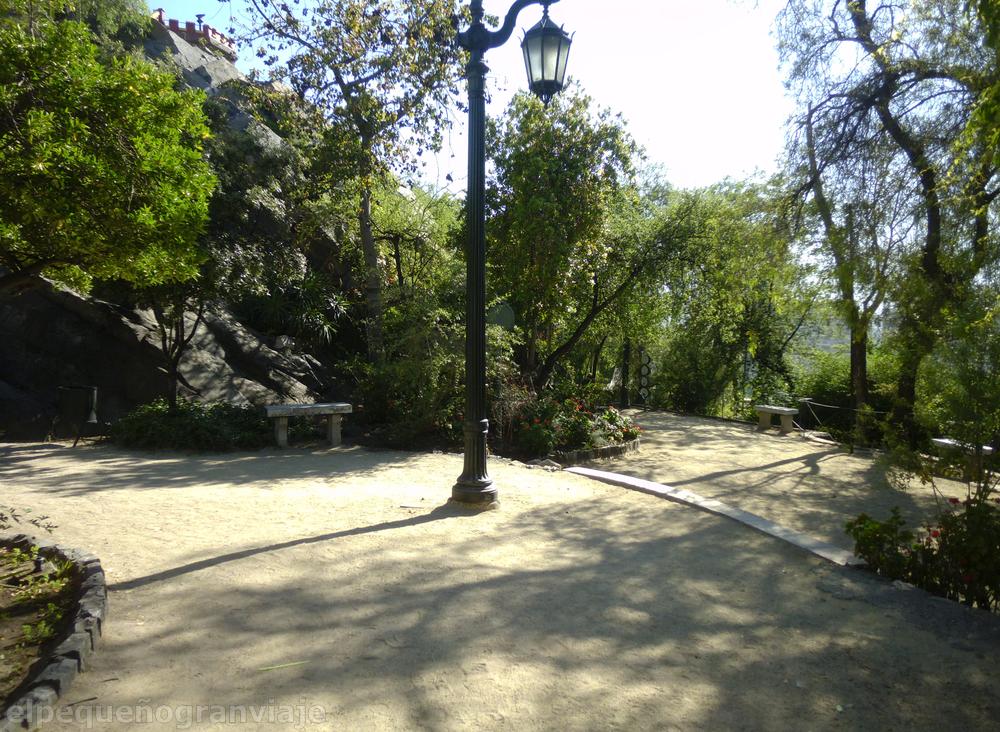 Cerro Santa Lucia, Santiago de Chile, Chile, jardines