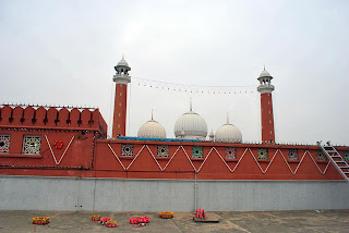 lights on Jamia Mosque Wah Cantt