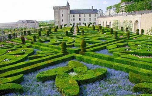 مدهشة لحديقة الحب فرنسا!