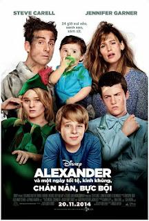 Alexander và Một Ngày Tồi Tệ Kinh Khủng Chán Nản Bực Bội - Alexander and the Terrible Horrible No Good Very Bad Day