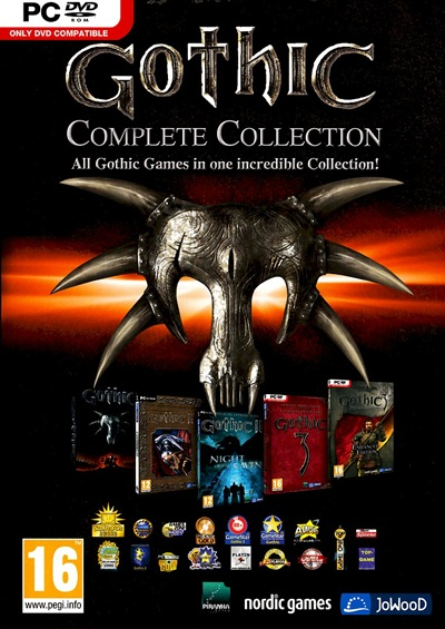 Gothic Complete Collection PC Full DEFA
