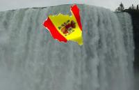 España cayendo