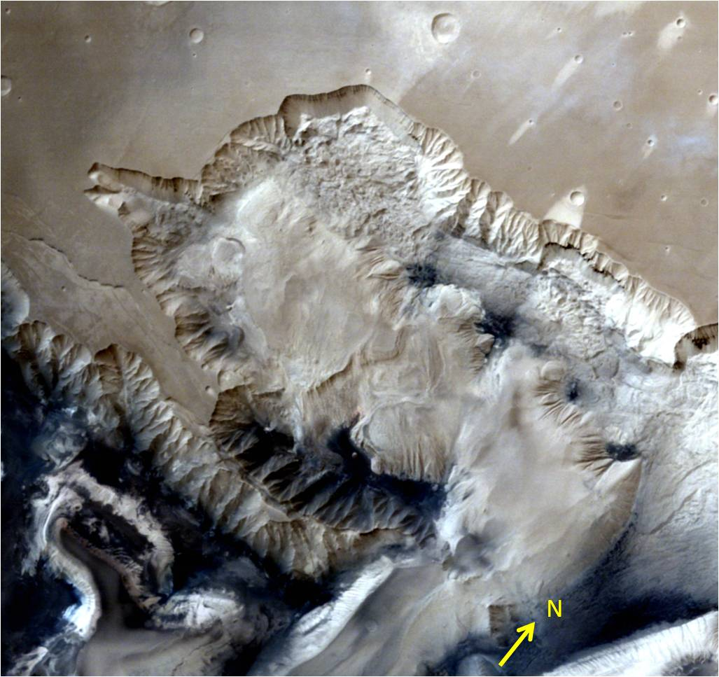 3D pictures of Mars send by Isro's Mangalyaan