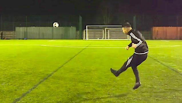 The most insane soccer curve kicks