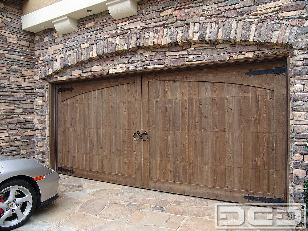 Garage Door Decorative Iron Styles