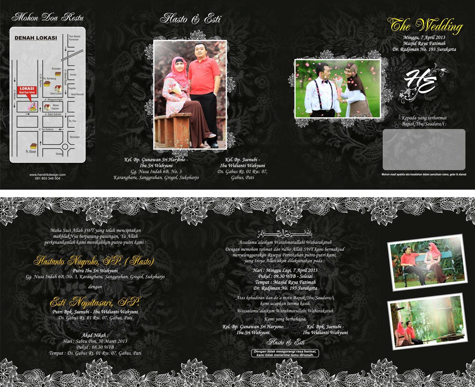 Free Download Undangan Pernikahan Dengan Memberikan Contoh HD ...