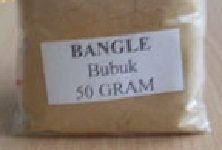 obat tradisional herbal bangle bubuk