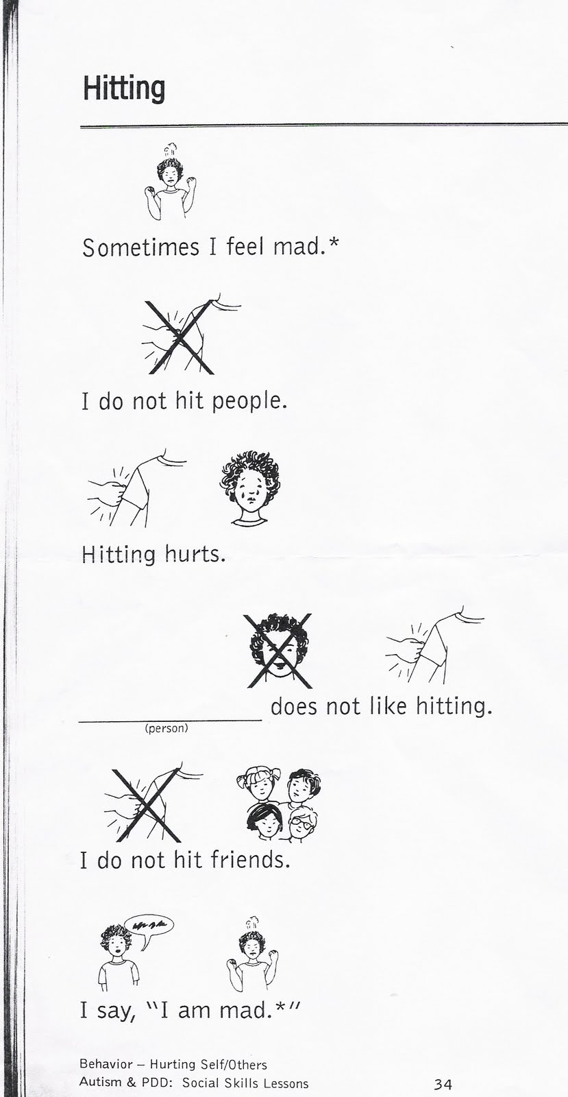 No Hitting No hitting! Images - Frompo