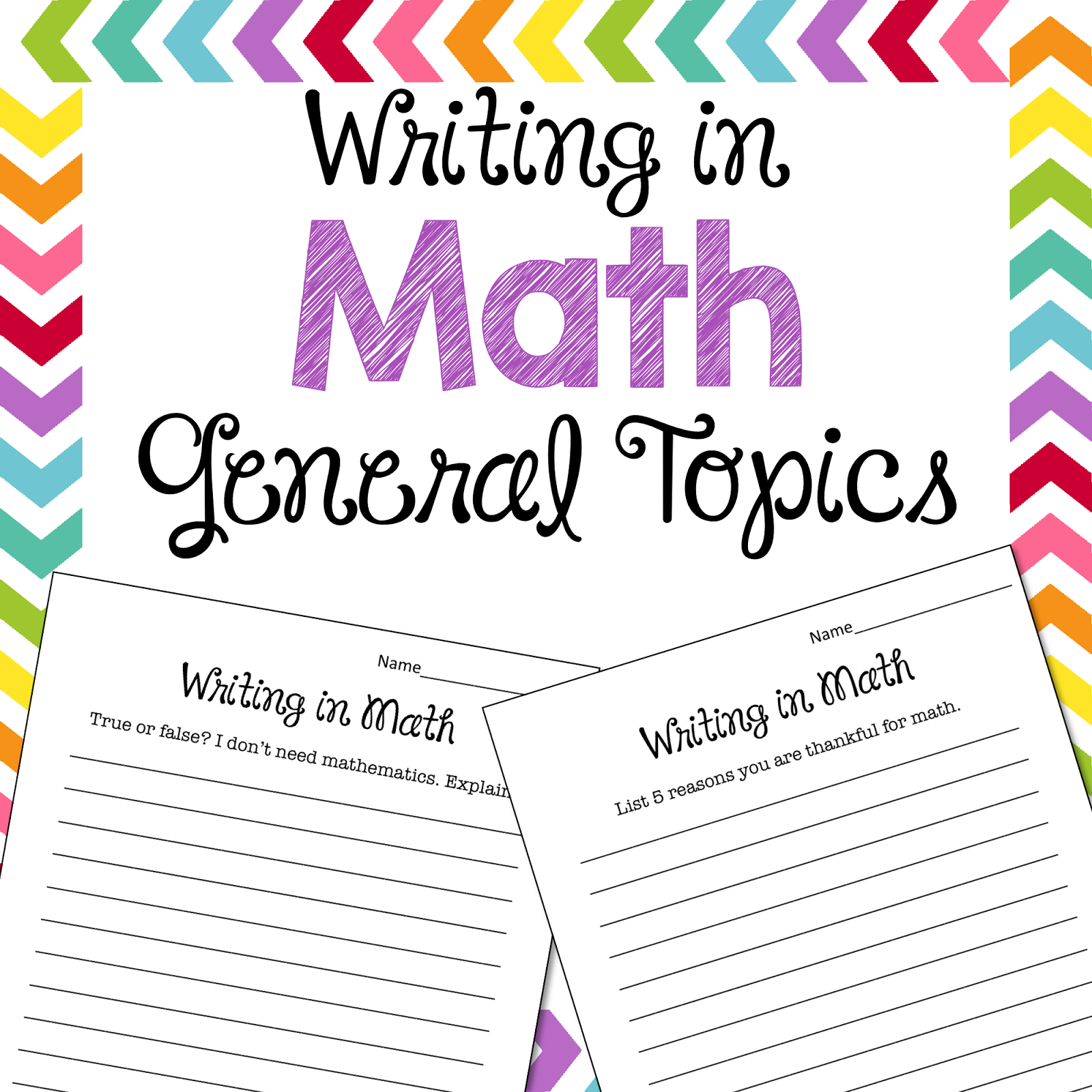 Essay about mathematics