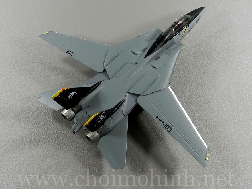 F-14B Tomcat VF-103 Jolly Rogers 1:72 Witty Wings side