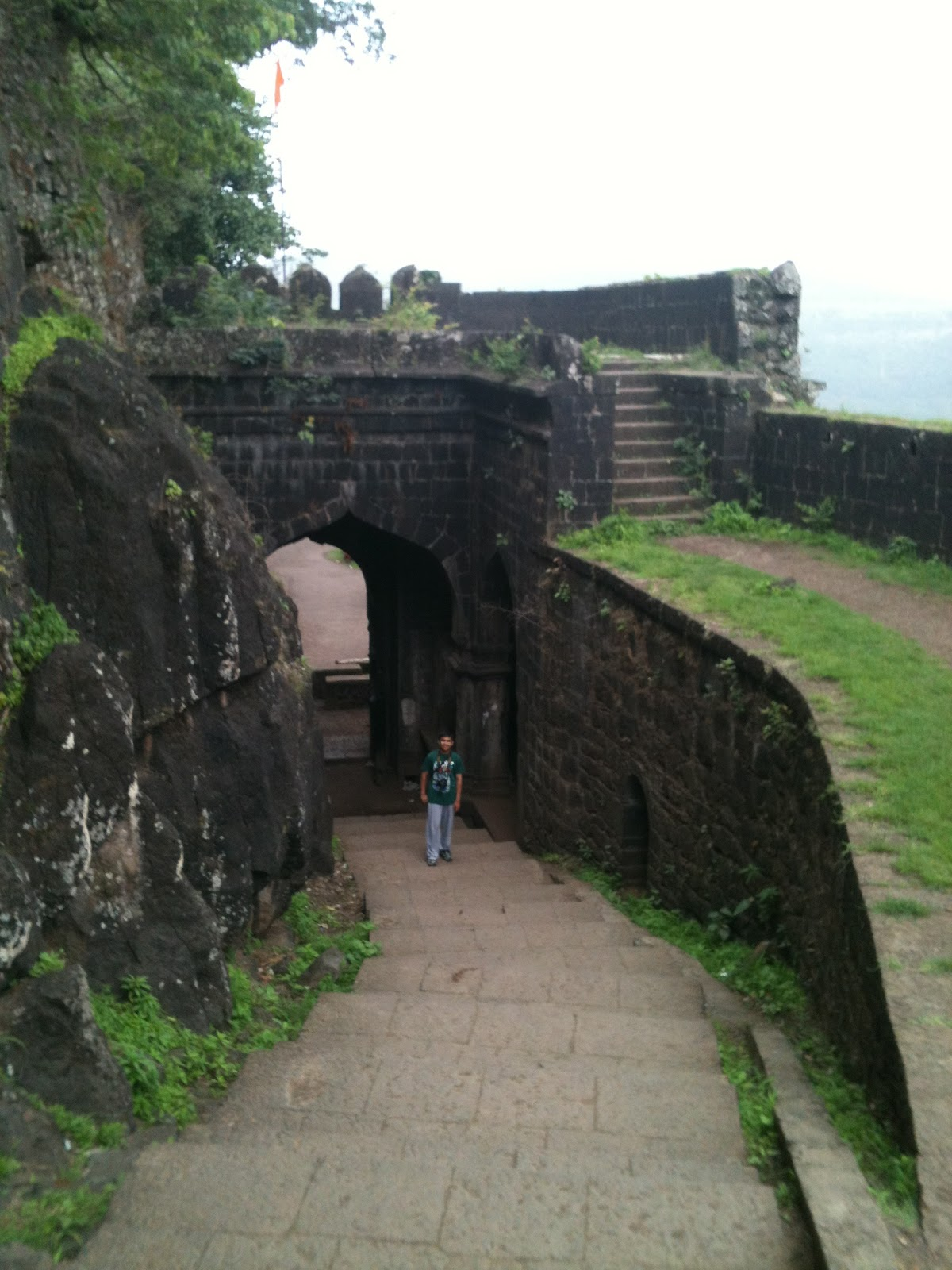 Satara India  city pictures gallery : ... different creative way: Ajinkyatara fort at Satara Maharashtra India