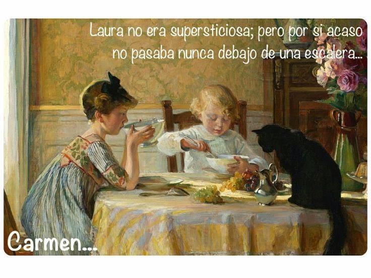 Para Carmen, 'Hora del aperitivo' de Angele Blanche Denvi Denvil...