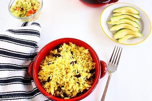 baked rice and beans | roxanashomebaking.com