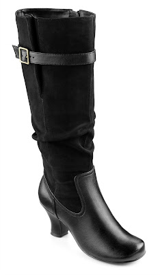 hotter shoes, autumn/ winter boots 2013, soft and comfortable calf boots