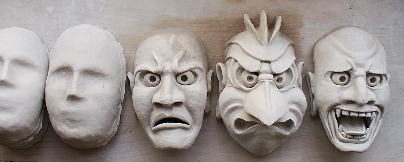Paper Clay Mask Paper Clay Masks Part 2