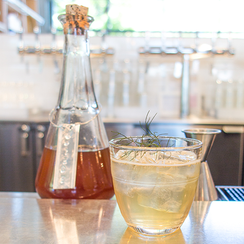Quince Shrub & Shim Cocktail | Guest Recipe from The Shed | LLK-C.com