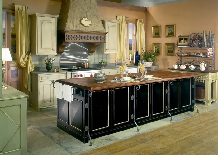 French Style Kitchen home exterior designs: create french style kitchen or french