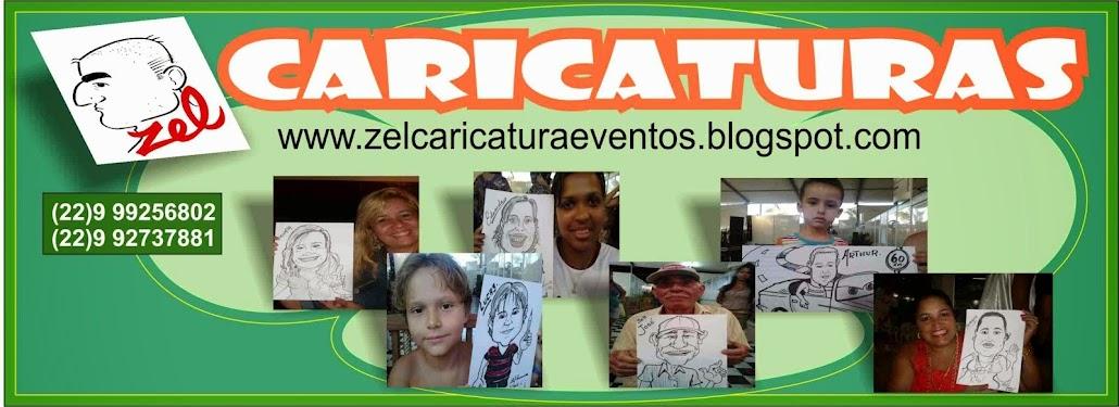 CARICATURAS EM EVENTOS