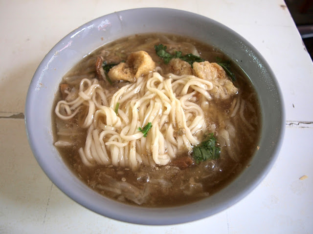 台南西港蓮華素食(菜粽) 意麵麵焿