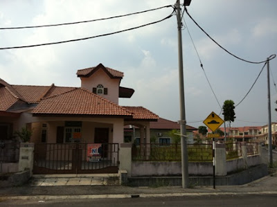 ipoh house.ipoh property for sale.1 1/2 storey house.county valentine