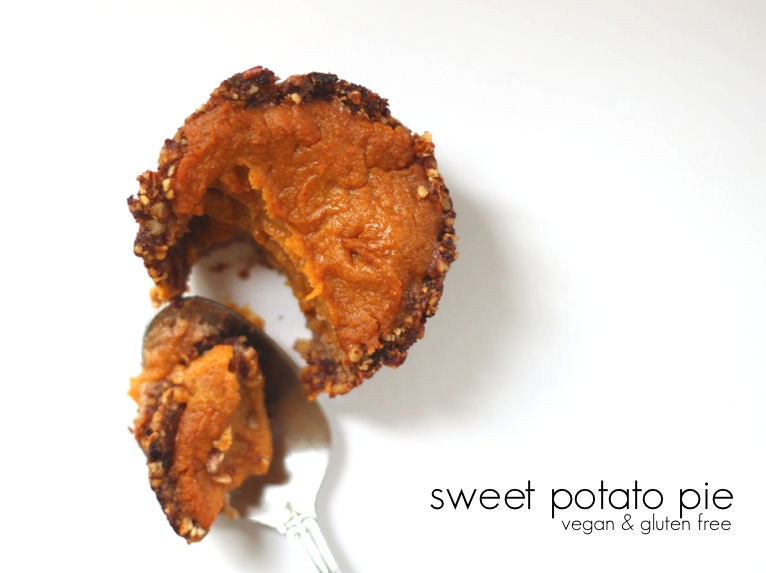 Jenessa's Dinners: Vegan and Gluten Free Sweet Potato Pie