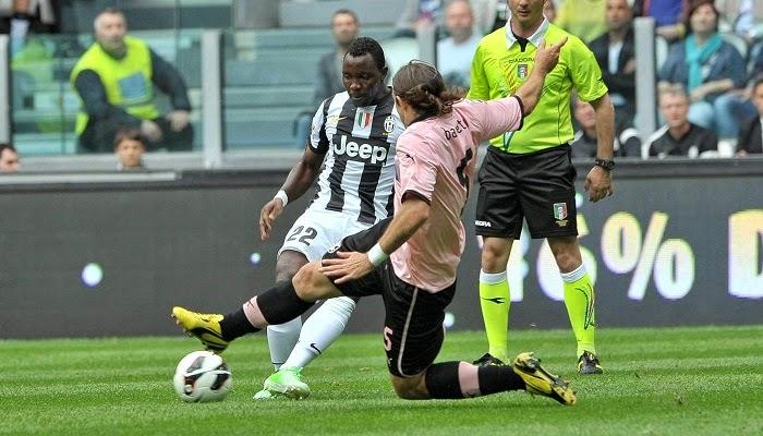 Palermo vs Juventus en vivo