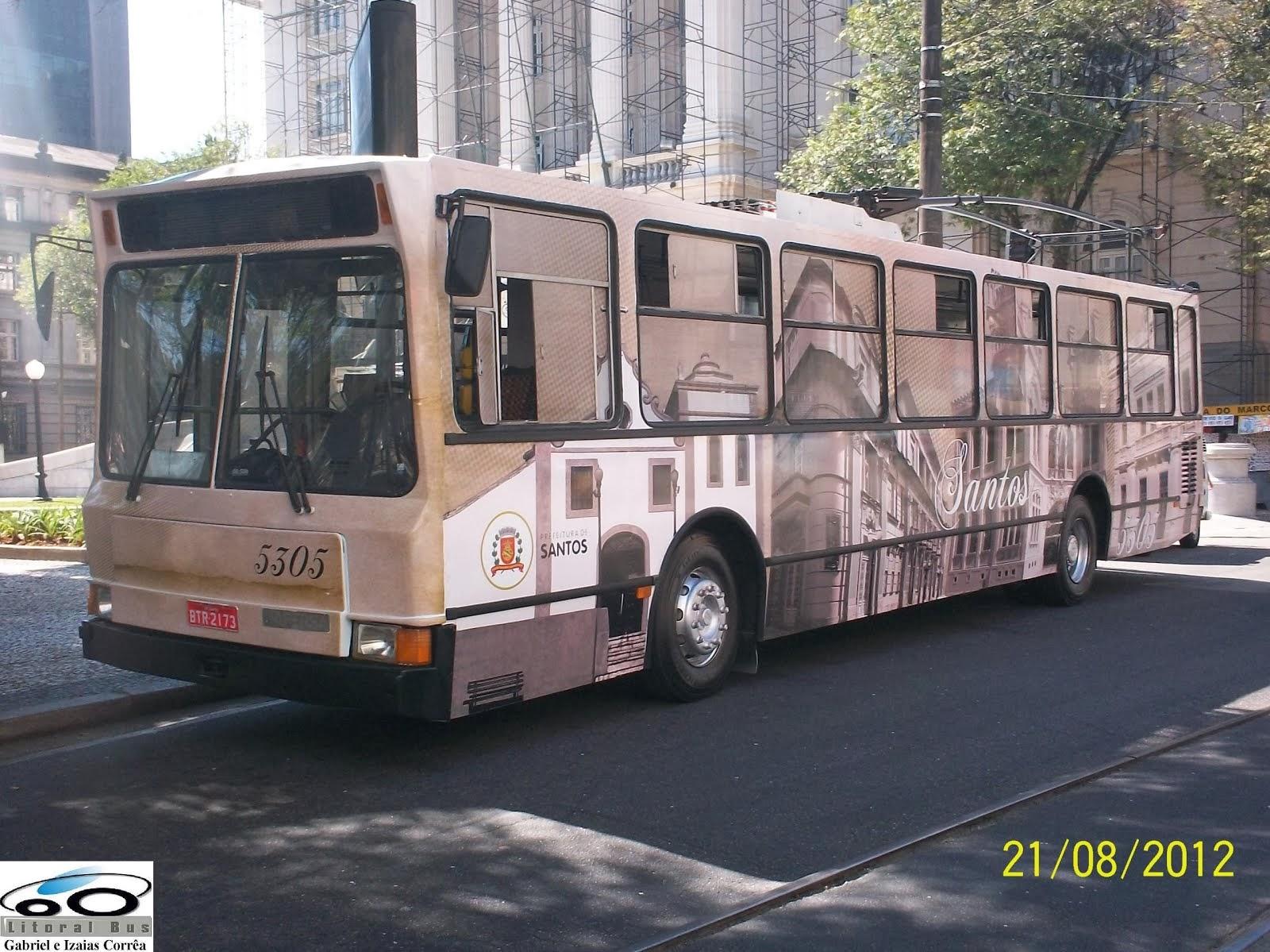 Piracicabana Santos - Trólebus Mafersa