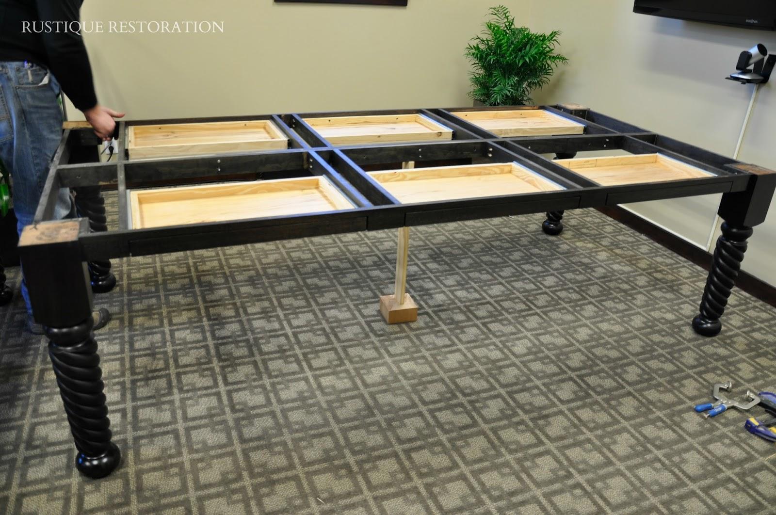 Rustique Restoration - Build a conference table