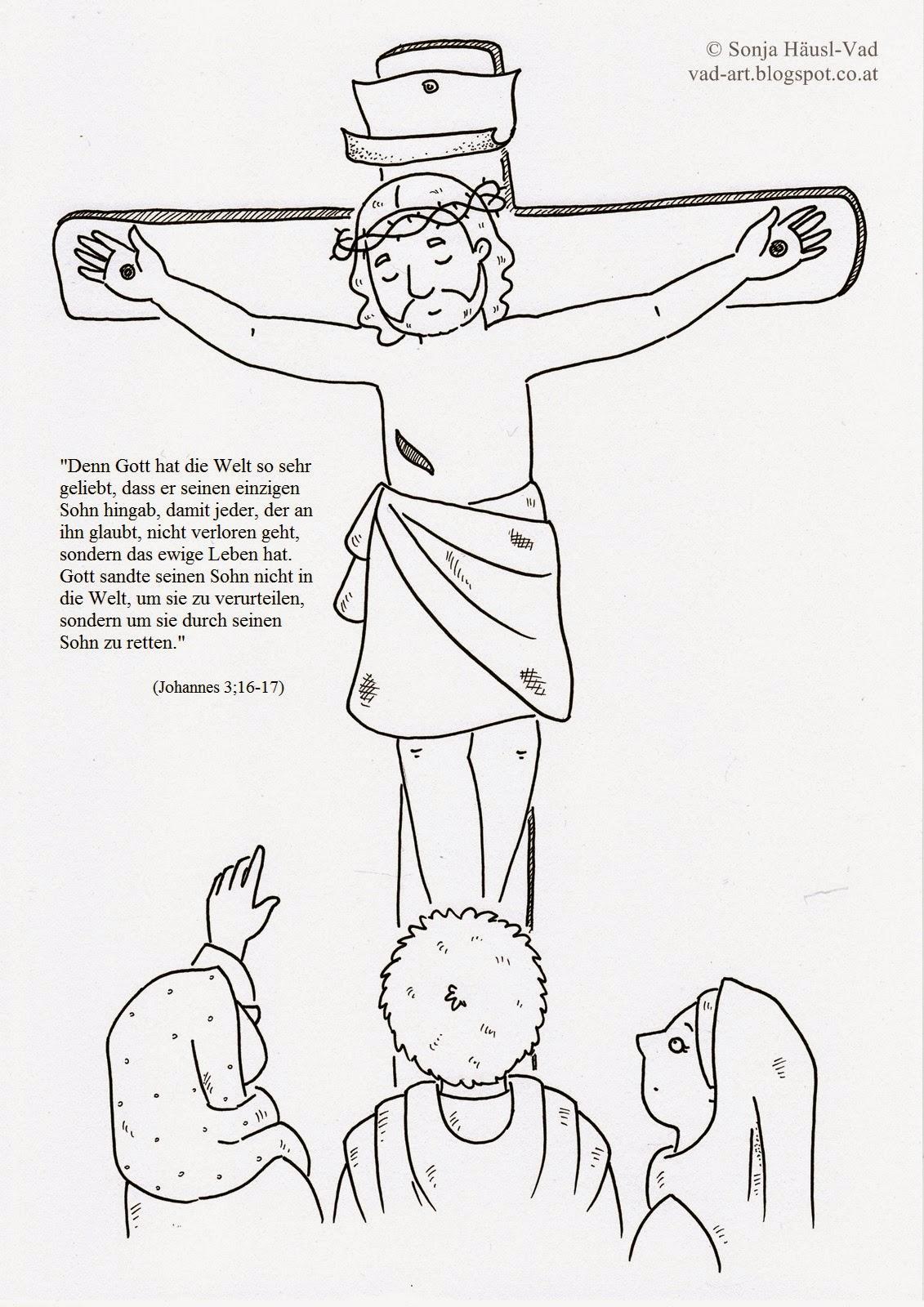 Kostenlose Malvorlage Szenen aus der Bibel: Kostenlose