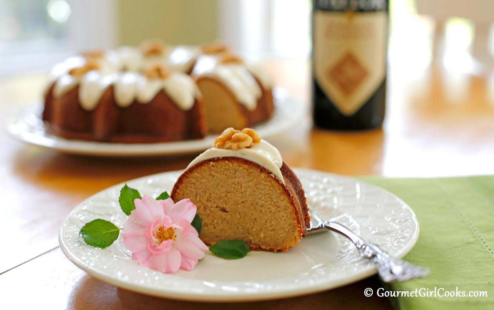 Gourmet Girl Cooks: Cream Sherry Bundt Cake - Low Carb, Sugar Free ...