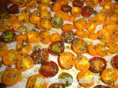 salt peppered cherry tomatoes
