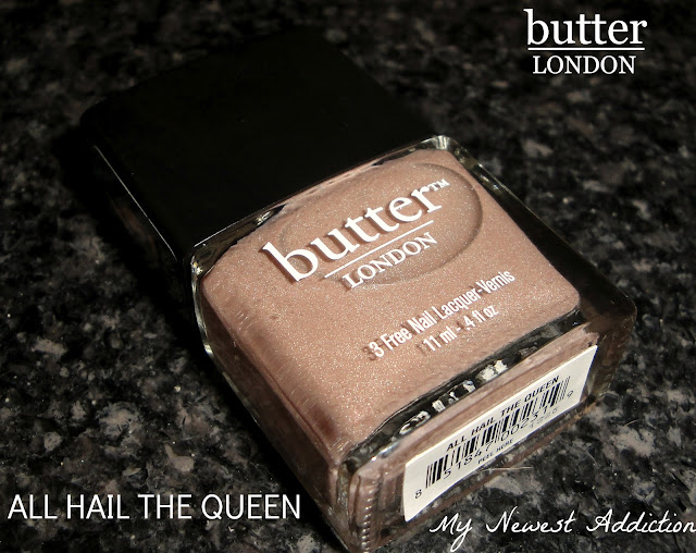 Taupe-tastic Tuesday: Butter London All Hail The Queen - My Newest Addiction