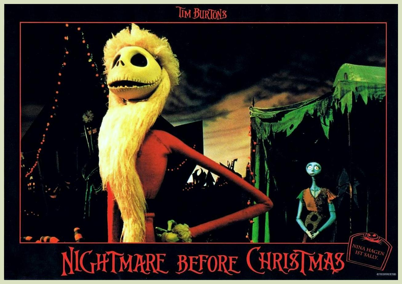... NIGHTMARE BEFORE CHRISTMAS: TIM BURTON GALLERY AND REVIEW : CHRISTMAS