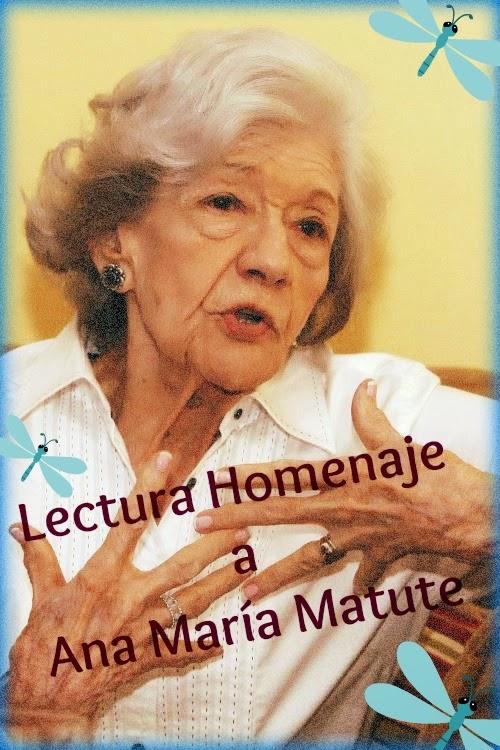 LECTURA HOMENAJE: ANA MARÍA MATUTE