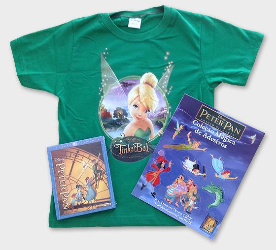 Peter Pan em Blu-ray