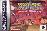 Pokémon Mundo Misterioso Equipo de Rescare Rojo
