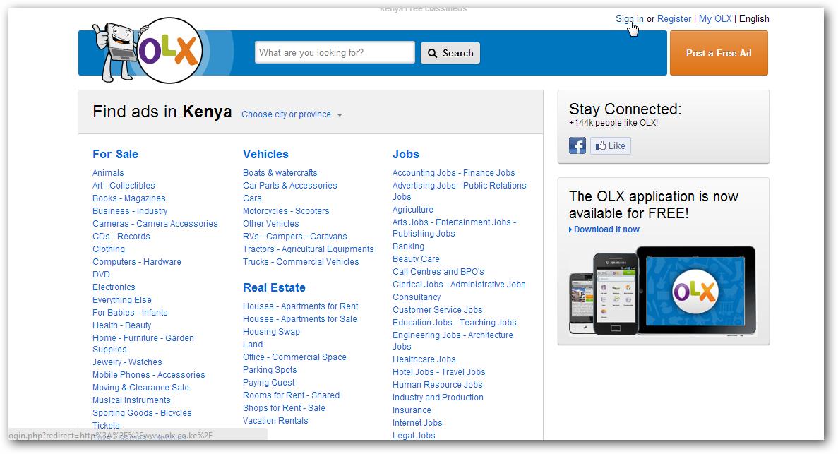 Kenyan internet dating sites