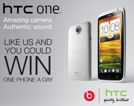 Get a Chance to win HTC One in HTC Contest