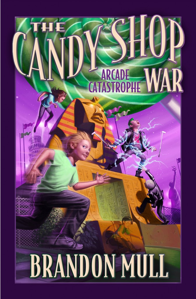 The Candy Shop War: The Candy Shop War Bk. 1 by Brandon Mull (2007, Hardcover)
