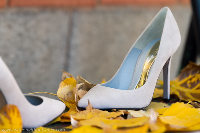 BLog de zapatos con Tendencias de la temporada en calzado: Stilettos de ante color gris de Magrit