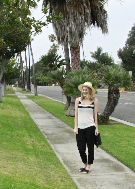 Shae Roderick Wearing a Loose Knit Tank